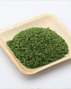 feuilles de coriandre deshydratee
