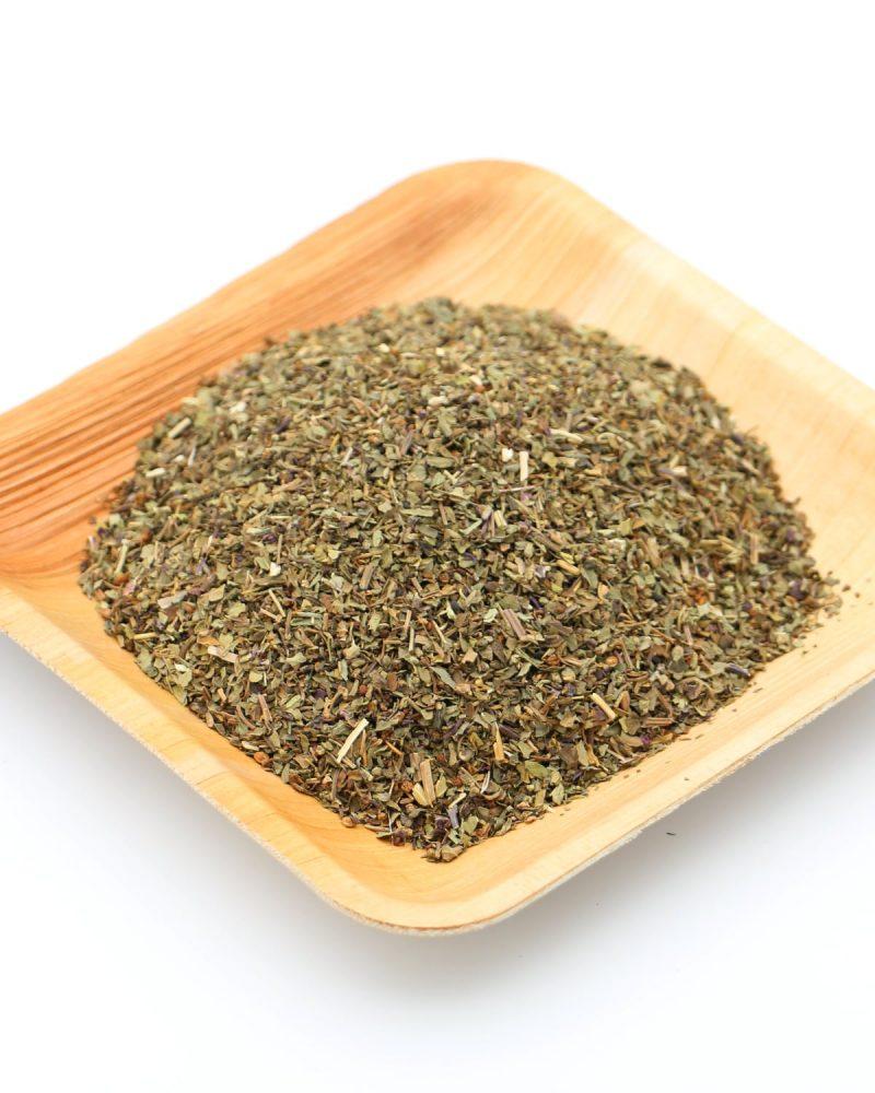 feuilles basilic deshydrate