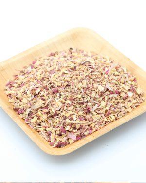 oignon rose deshydrate etal des epices