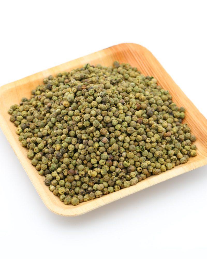 poivre vert deshydrate etal des epices