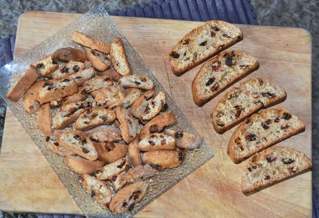 Mini-Biscotti aux épices spéculoos