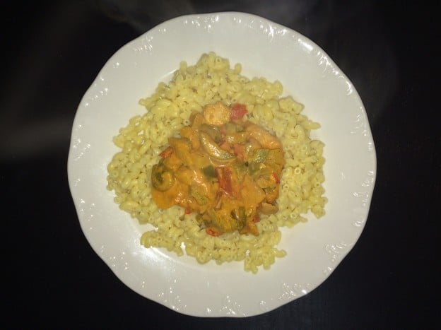 Poulet curry coco