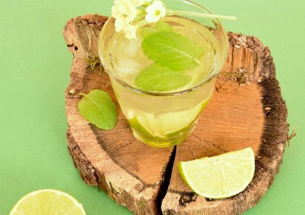 Infusion à la réglisse-menthe-citron vert