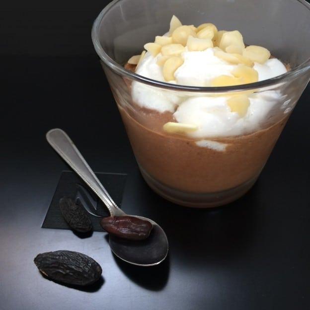 Mousse Choco Tonka à la neige (facile !)