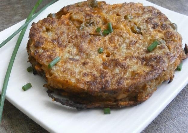 Galette végétarienne aux légumes tandoori