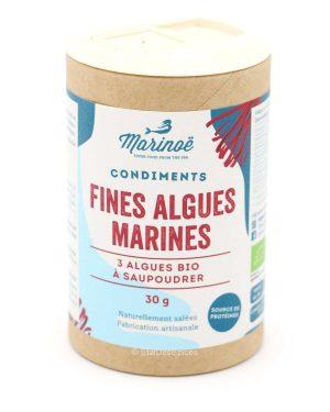 fines algues marines bio marinoe