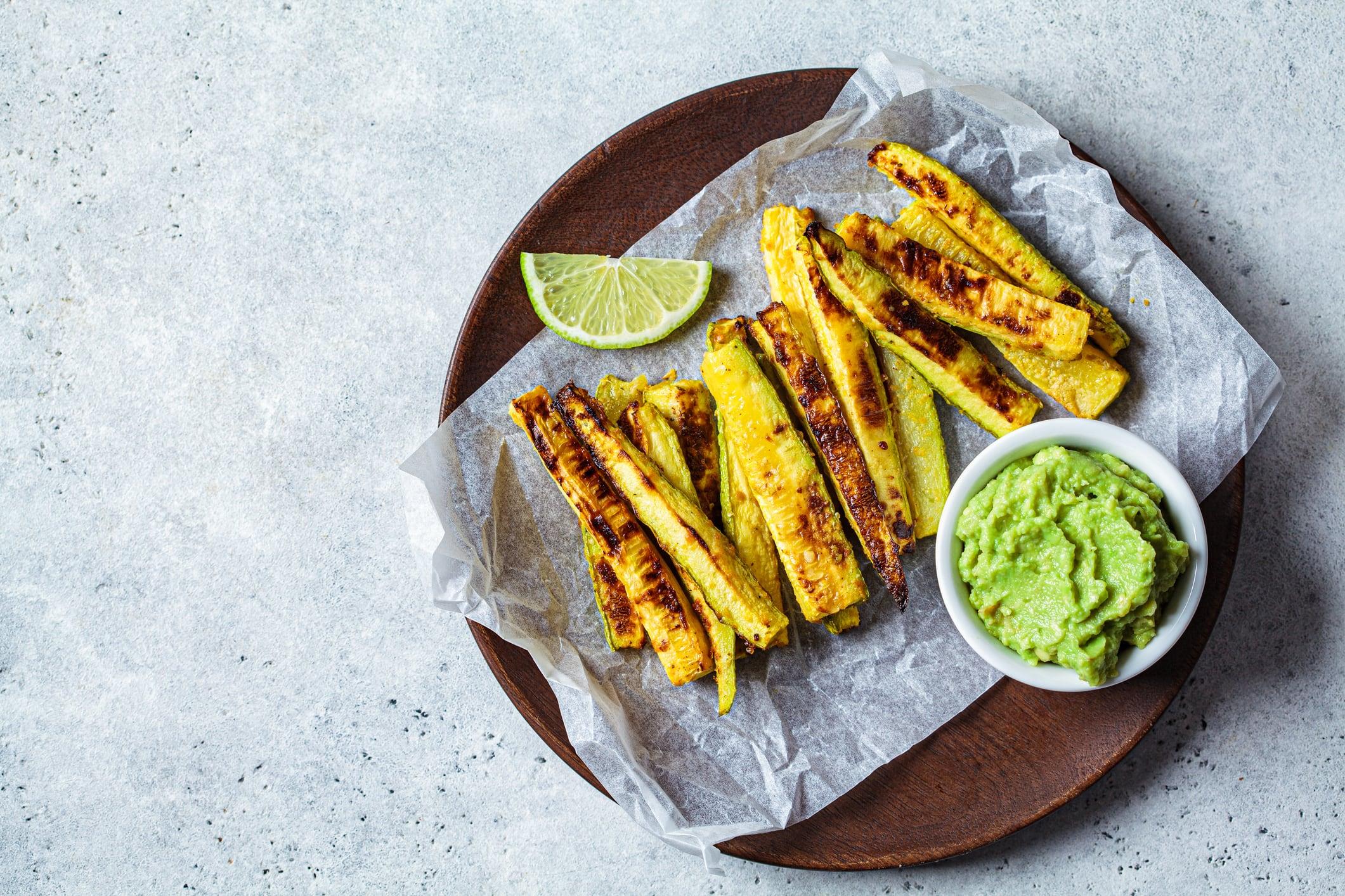recette guacamole courgettes