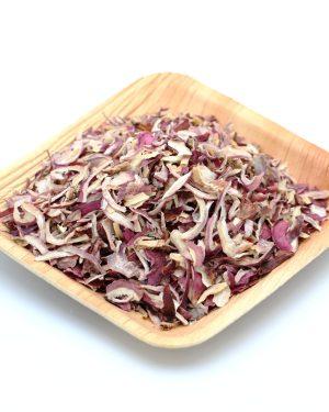 oignon rose seche lamelles